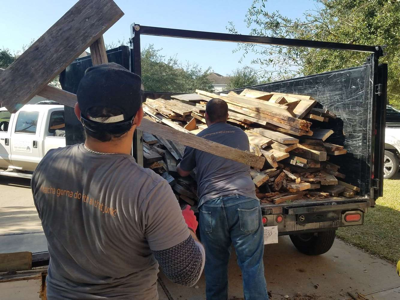 debris removal in Hockley, TX & Panama City, FL